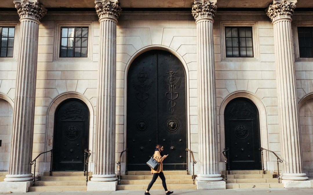 Bank of England entrace